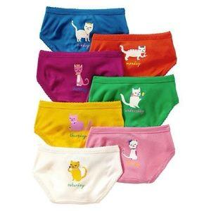 Gap Kids Underwear 10 Pairs Size 4/5